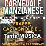 programma del carnevale 2020 a Manziana