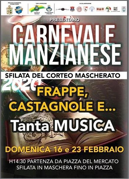 Carnevale Manzianese 2020 - Manziana