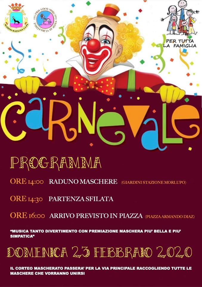 Carnevale 2020 - Morlupo (RM)