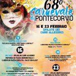 Programma del carnevale 2020 a Pontecorvo