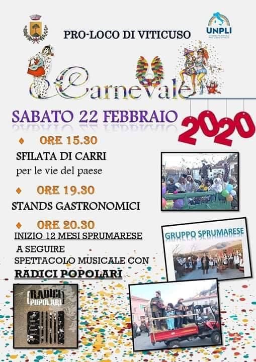 Carnevale 2020 - Viticuso (FR)