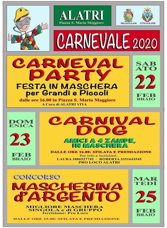 Carnevale 2020 - Alatri (FR)