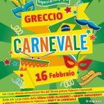 Programma del carnevale di Greccio 2020