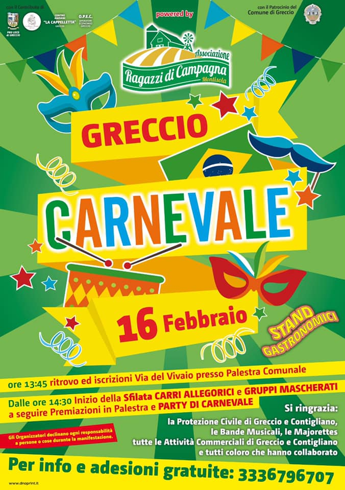 Carnevale 2020 - Greccio (RI)