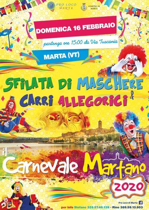 Carnevale Martano 2020 - Marta (VT)