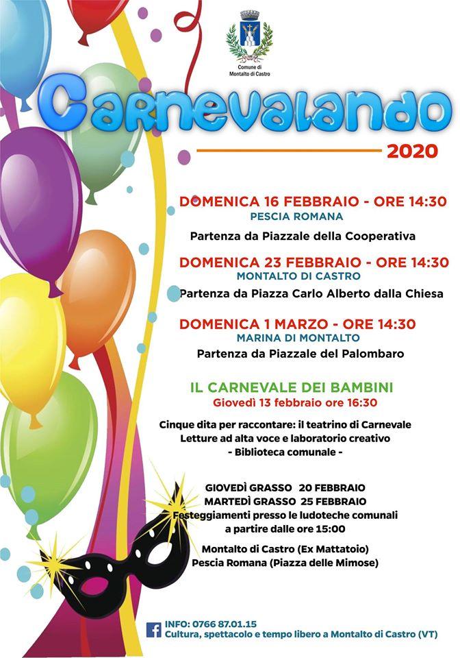 Carnevale 2020 - Montalto di Castro (VT)
