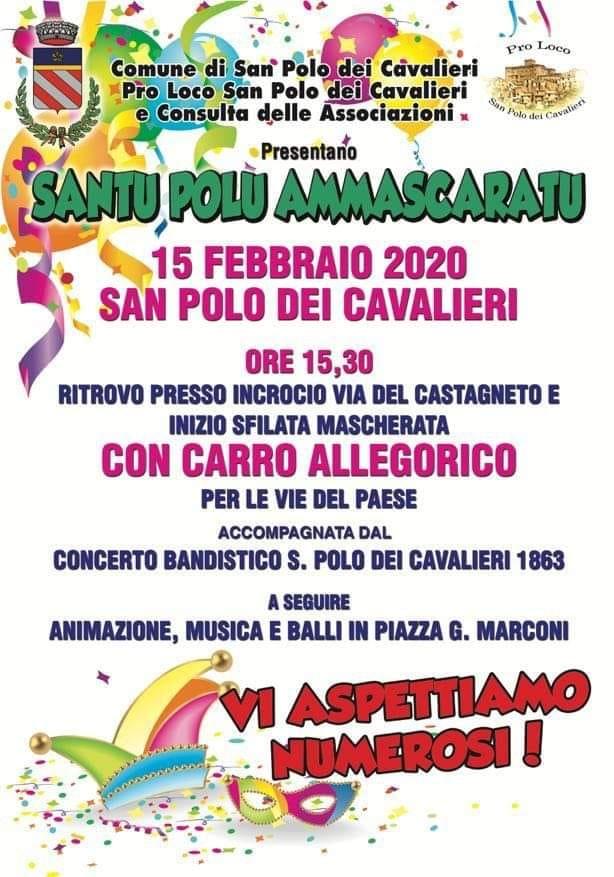 Carnevale 2020 - San Polo dei Cavalieri (RM)