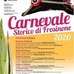 Programma del carnevale di Frosinone 2020