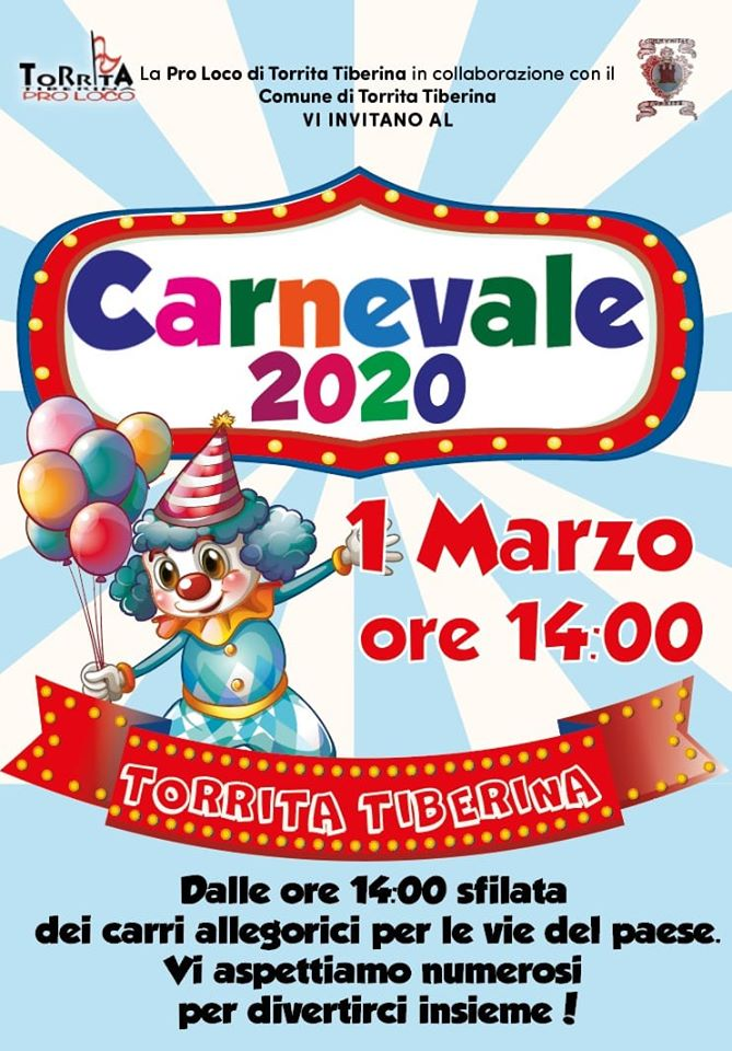 Carnevale 2020 - Torrita Tiberina (RM)