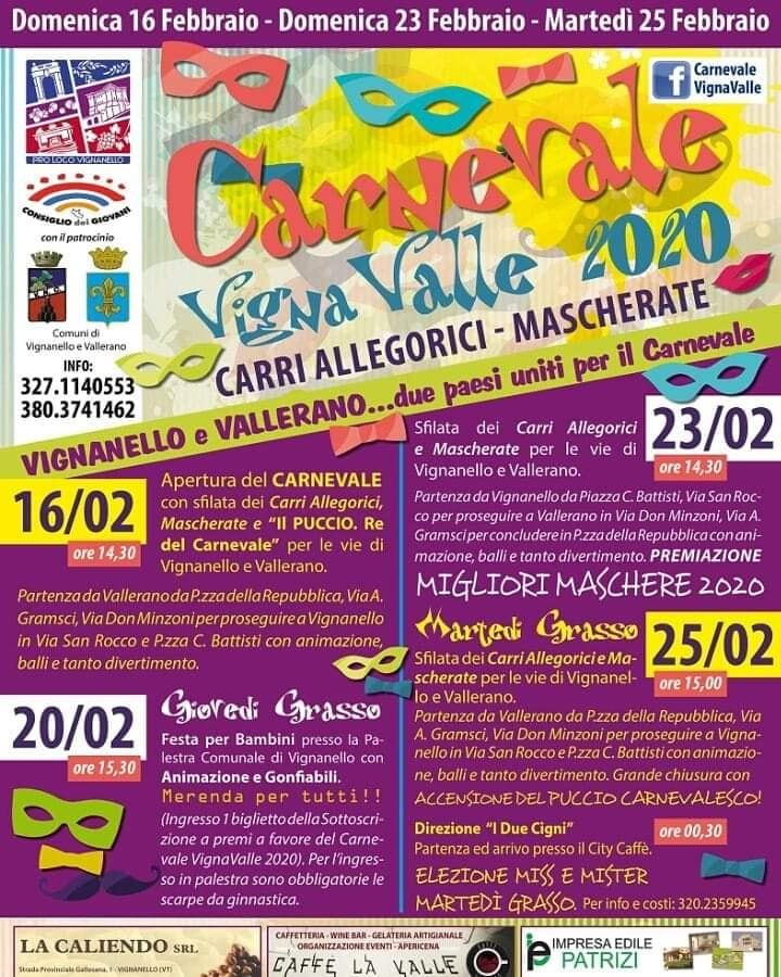 Carnevale 2020 - Vignanello e Vallerano