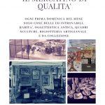 mercatino di artigianato e antiquariato di piazza Mazzini a Roma