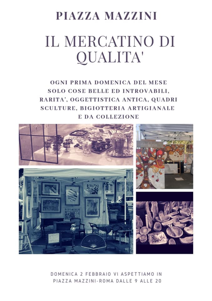 Il mercatino di qualità in piazza Mazzini
