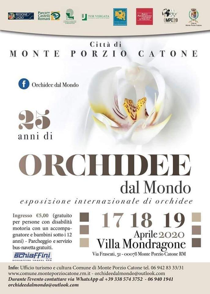Festa delle Orchidee 2020 - Monte Porzio Catone (RM)