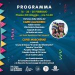 Programma del carnevale di Gaeta 2020