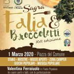 Sagra falia e broccoletti 2020 Priverno