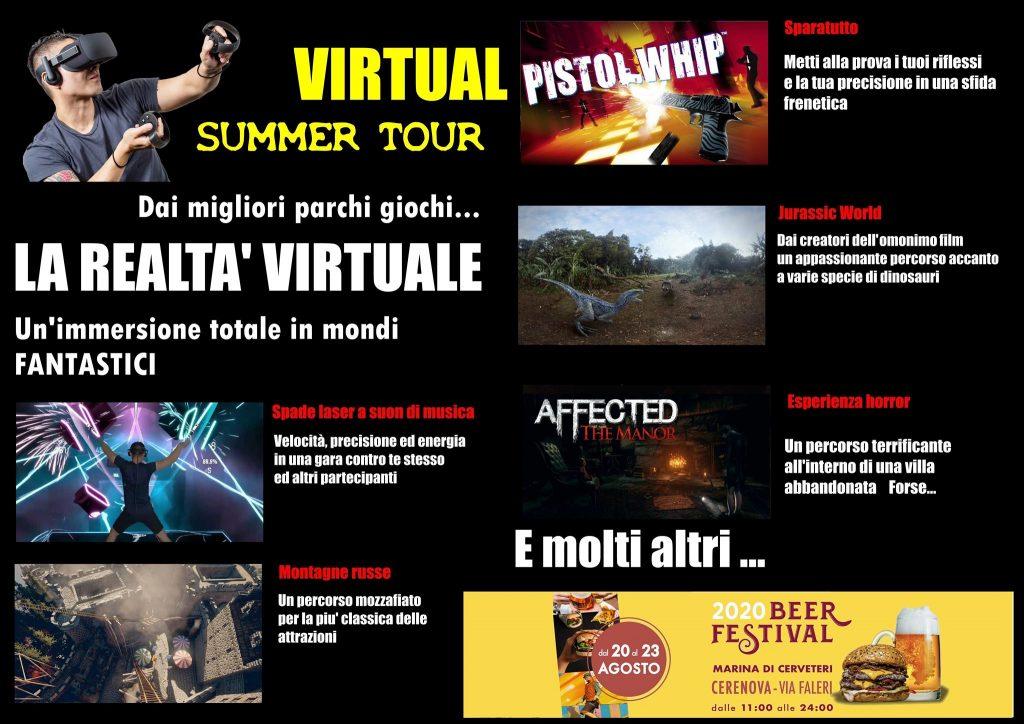 Il virtual summer tour sarà presente al Beer Festival 2020 a Marina di Cerveteri