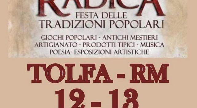 Festa della radica Tolfa 2020